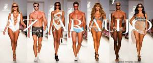 BRAZILIAN DESIGNER A.Z.ARAUJO DESIGNS SHOW-STOPPING SWIMSUITS